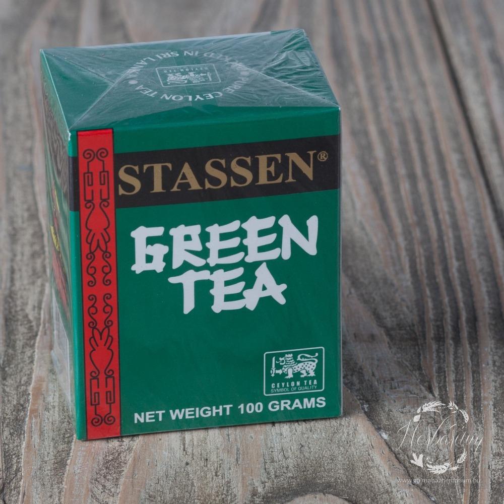 Stassen zöld tea szálas 100g