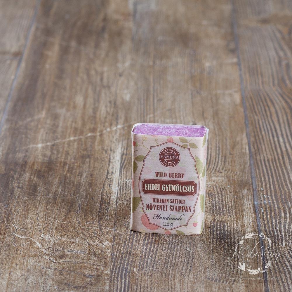 Hidegen sajtolt szappan erdei gyümölcsös 110g