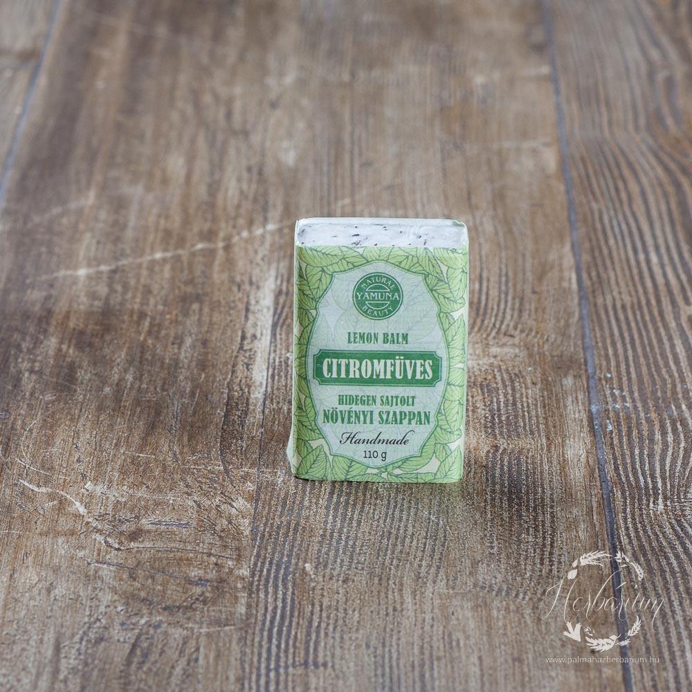 Hidegen sajtolt szappan citromfüves 110g