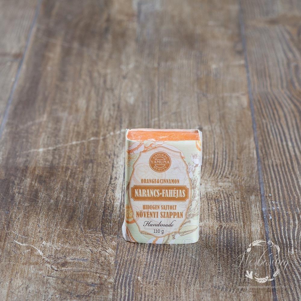 Hidegen sajtolt szappan narancs-fahéjas 110g
