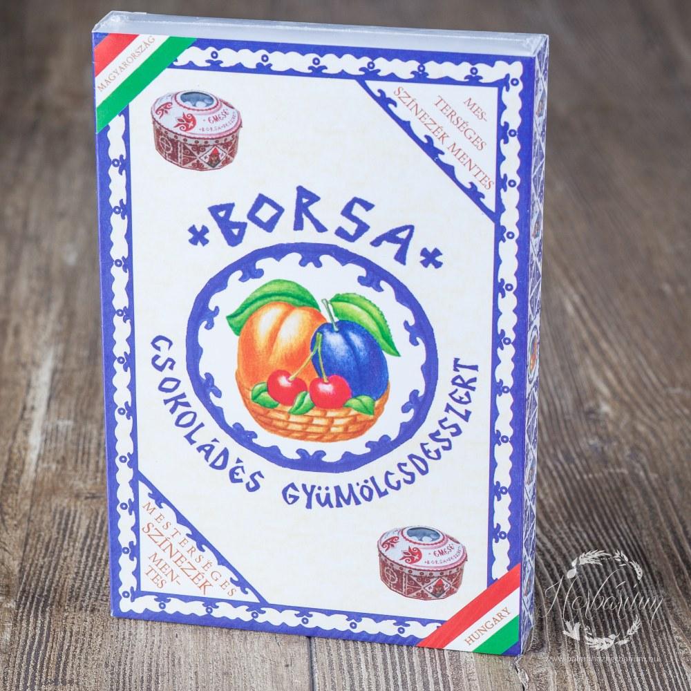 10 db-os csokis gyümölcsdesszert 140g