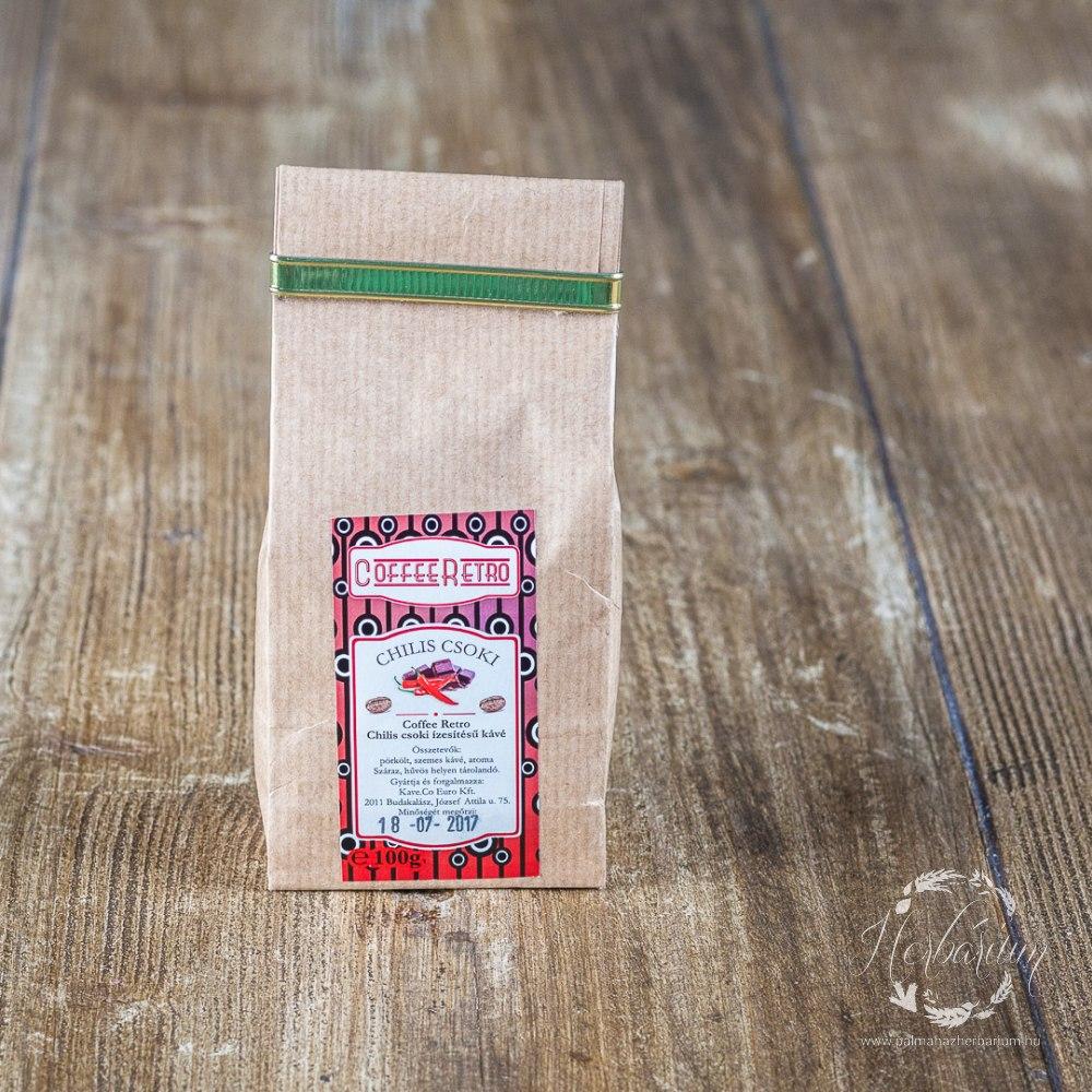 Kávé Chilis csoki Szemes 100g